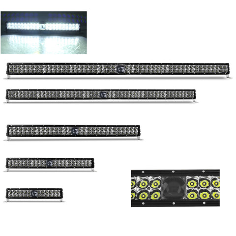 LED Laser Light Bars  Dual Row - 14, 22, 32, 42 & 50 Inch