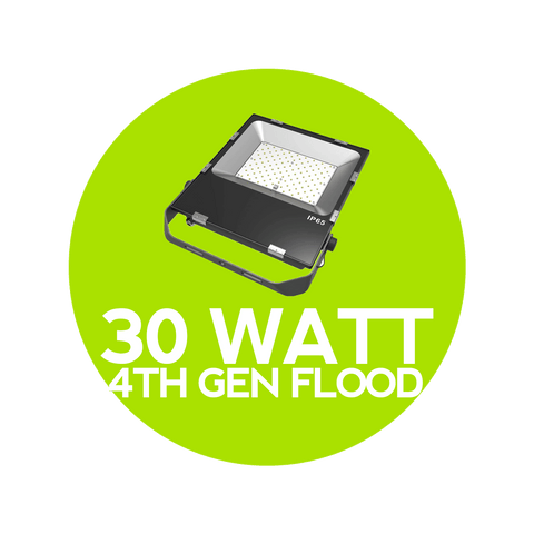 30 Watt 4th Gen LED Flood Light