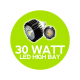 30 Watt High Bay Globe LED