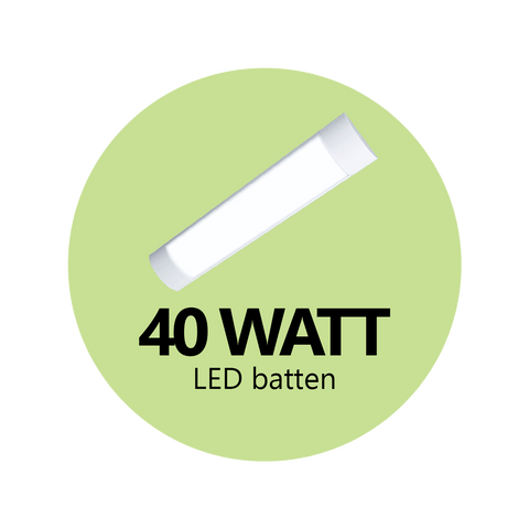 40 Watt LED Batten