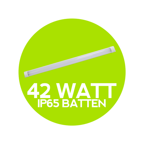 42 Watt LED IP65 Batten
