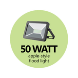 50 Watt Apple-Style Flood Light