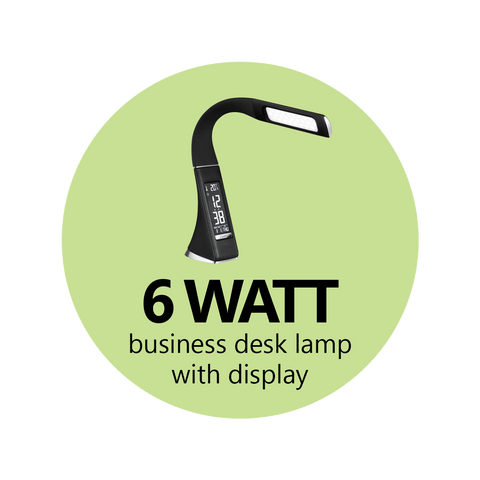 6 Watt T2 Business Desk Lamp