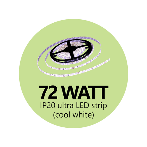 72 Watt Ultra LED Light Strip