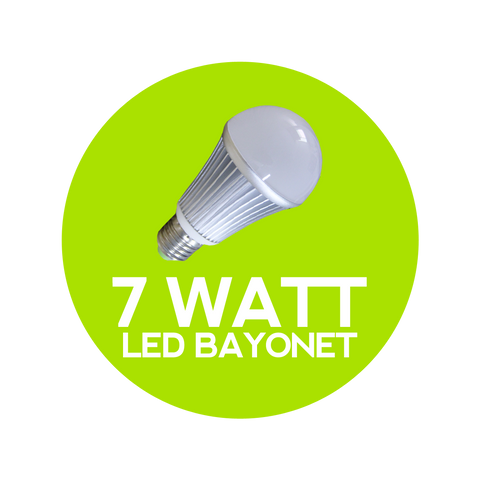 7 Watt LED Bayonet