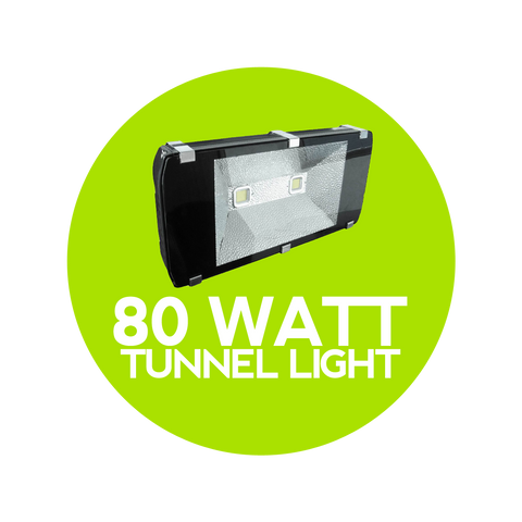 80 Watt LED Tunnel Light