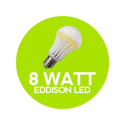 8 Watt Eddison Warm White