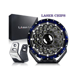 LED Laser 145 Watt 9 Inch - 16,600 Lumens - Day Light Running Lights