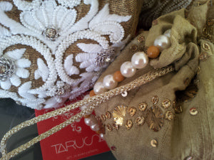 Embroidery at Tarusa