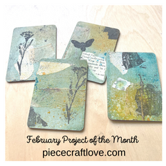 February Project Artist Trading Cards