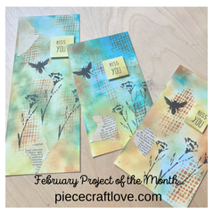 February Project Cards