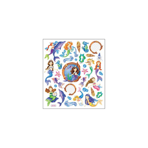 Sticker King Multicolored Stickers - Mystical Mermaids