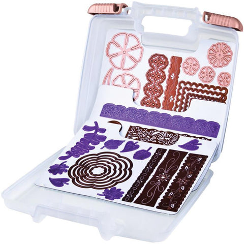 "ArtBin - Magnetic Die Storage Case - 10.25"" x 3.25"" x 9.625"" Translucent"