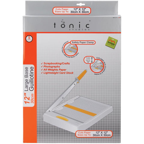 "Tonic Studios Guillotine Trimmer - 12"" x 12"""