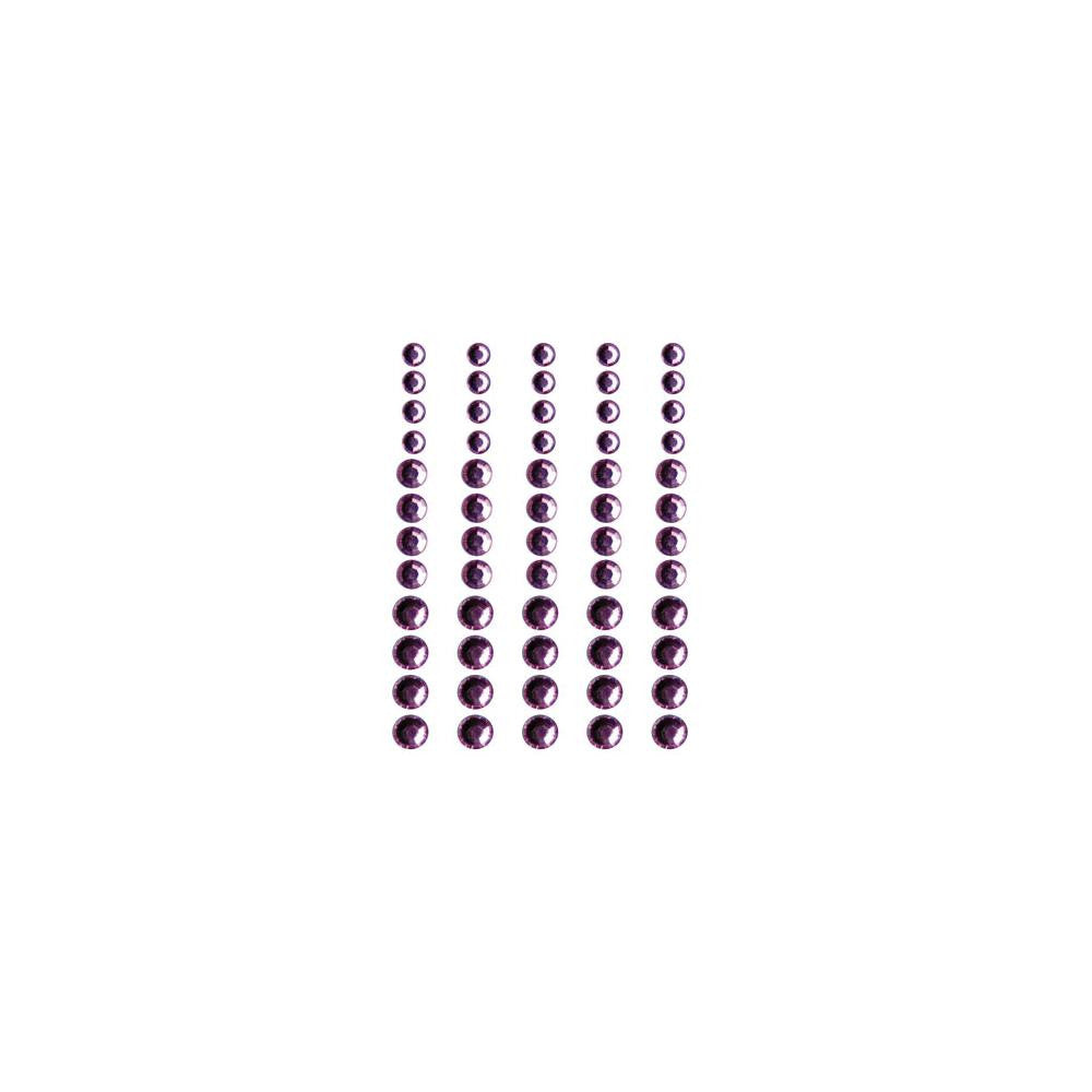 Queen & Co, Rhinestones, Self-Adhesive, 60/Pkg - Pretty In Pink