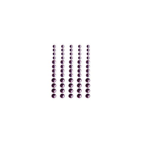 ***New Item*** Queen & Co, Rhinestones, Self-Adhesive, 60/Pkg - Pretty In Pink