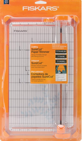 "Fiskars SureCut Deluxe Paper Trimmer - 12""- Top Picks"