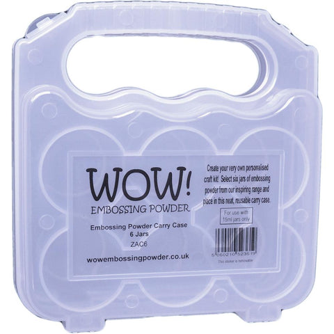 WOW Embossing Powder Storage Case - (Empty) - Holds 6