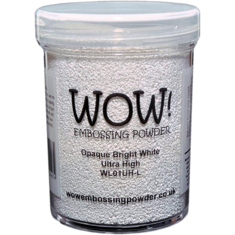 WOW! Embossing Powder 160ml - Opaque Bright White Superfine