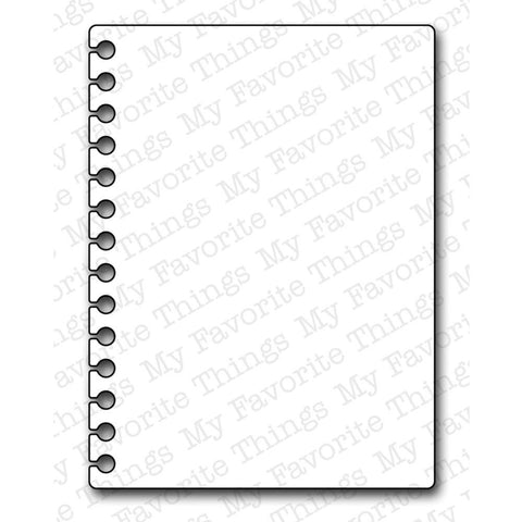 "Die-Namics Dies - Insert it Notebook Paper 2.9"" x 3.9"""