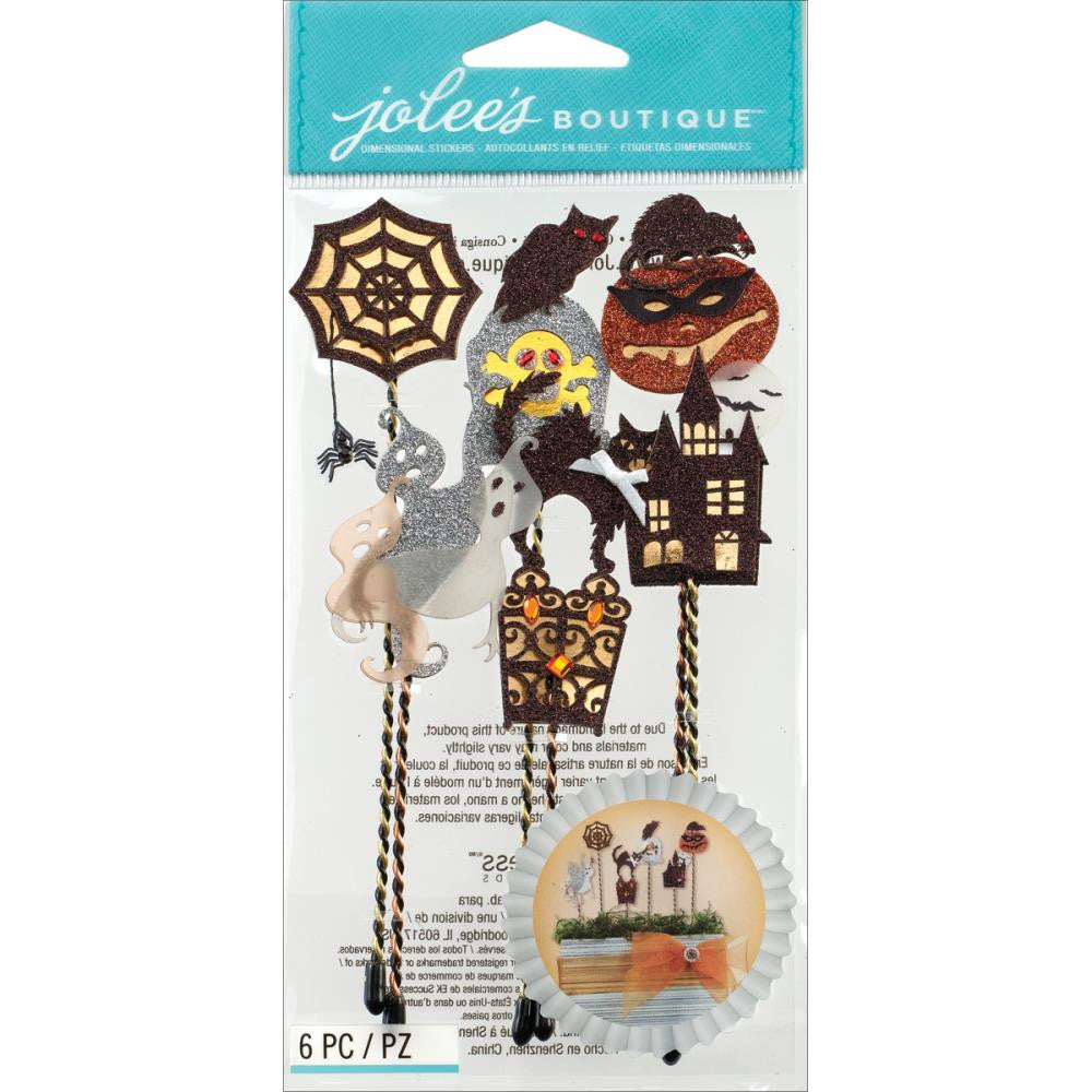 Jolee's Halloween Stickers - Silhoutte Sticks