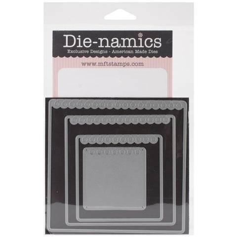 "Die-Namics Dies -STAX Dies - Mini Album Torn Notebook, 2.25"" To 5"""