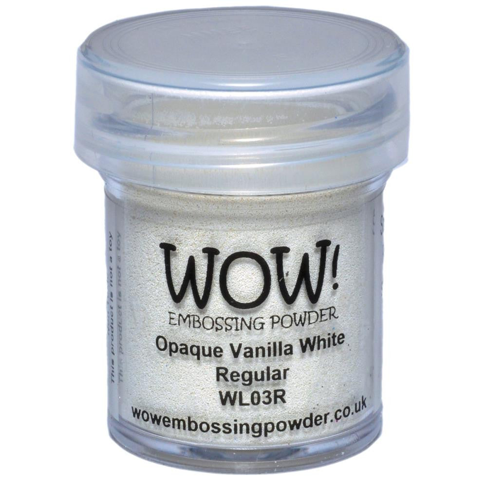WOW Embossing Powder 15ml - Vanilla White