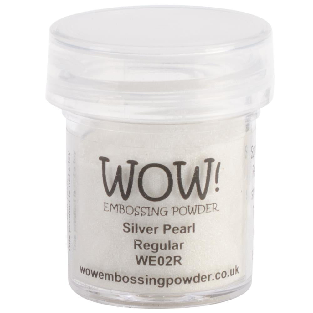 WOW Embossing Powder 15ml - Silver Pearl