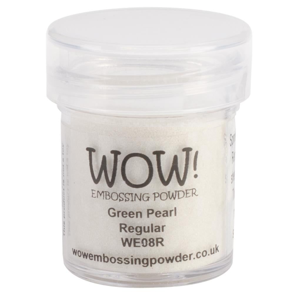 WOW Embossing Powder 15ml - Green Pearl