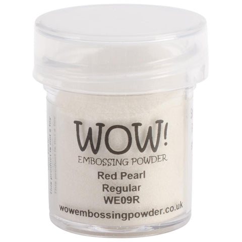 WOW Embossing Powder 15ml - Red Pearl
