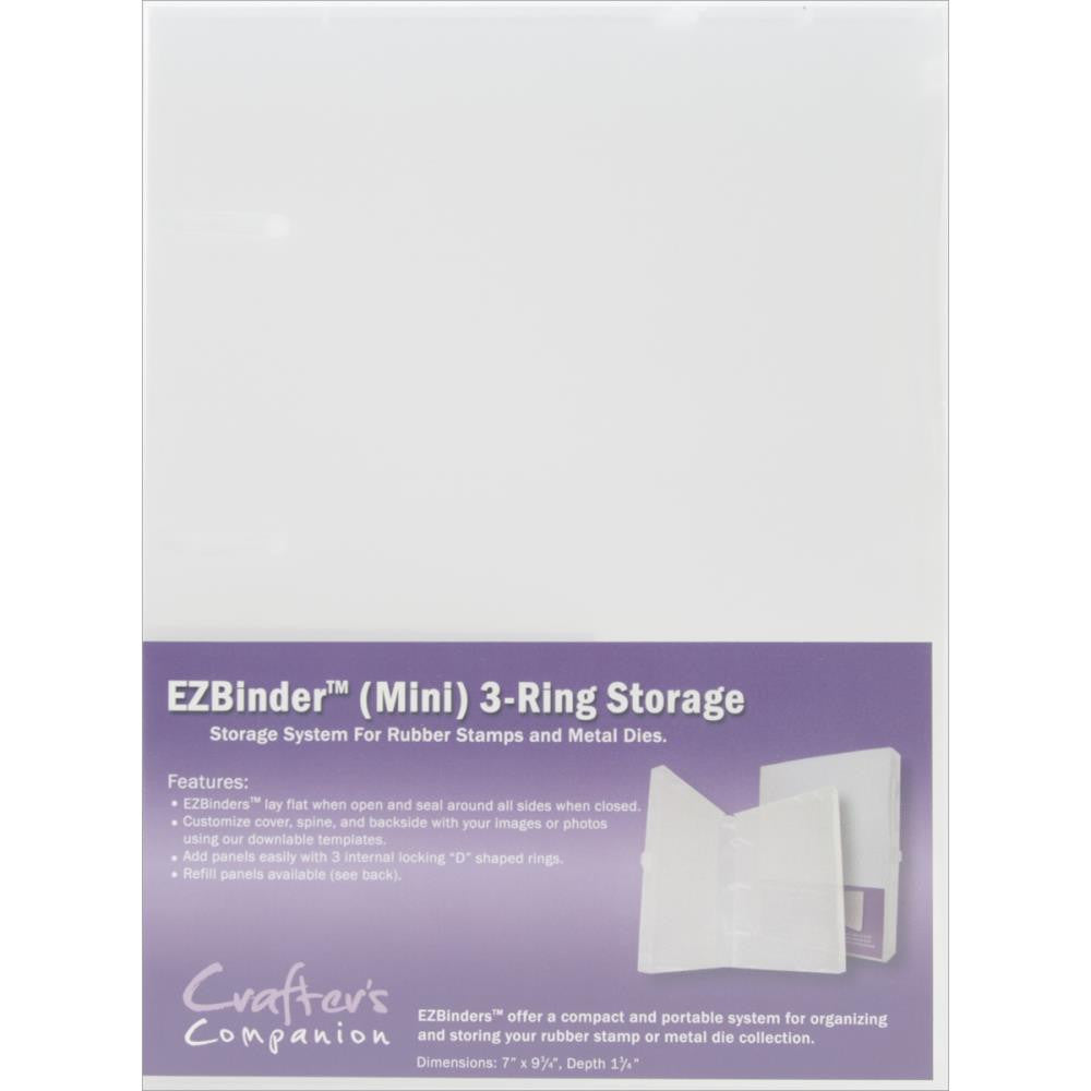 Crafter's Companion EZMount 3 ring Binder (Mini Size)