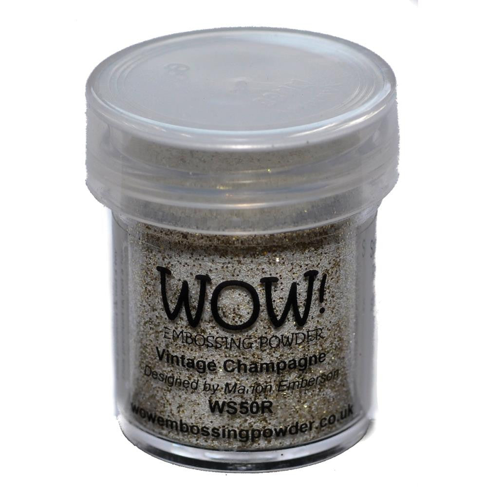 WOW Embossing Powder 15ml - Vintage Champagne