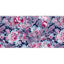 "***New Item***Decopatch Paper 15.75"" x 11.75""  3/pkg - Lush Flowers"