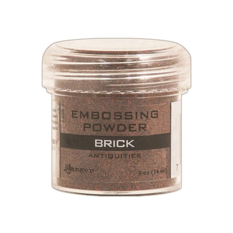 Ranger Embossing Powder 1oz Jar - Antiquities Brick