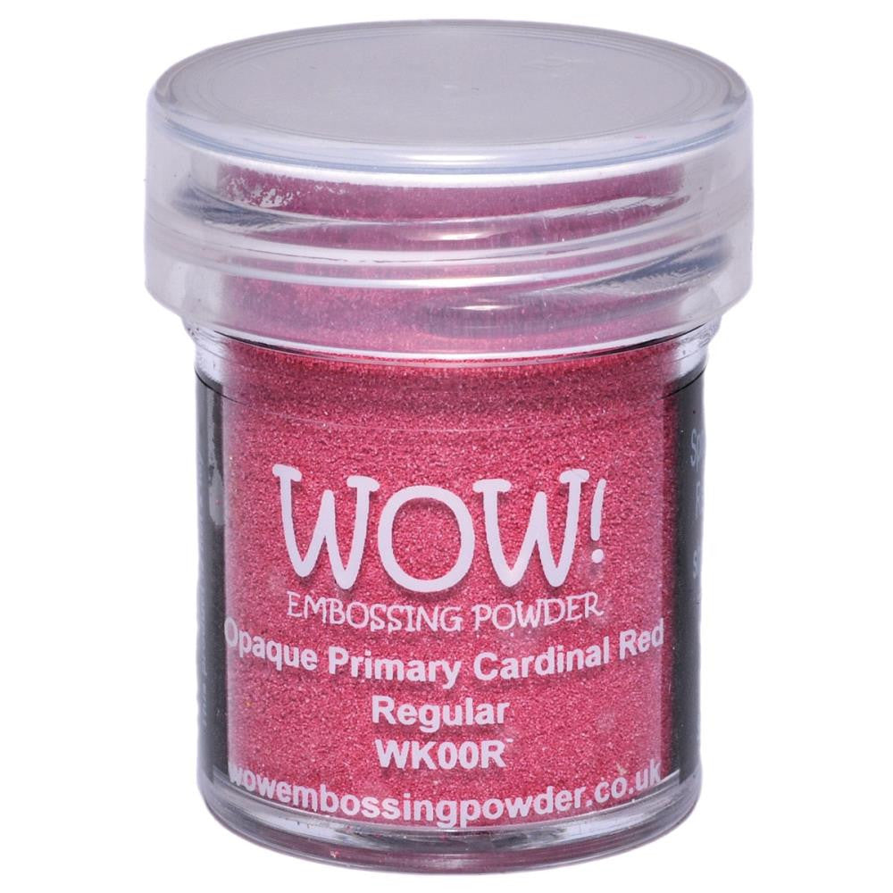 WOW Embossing Powder 15ml - Opaque Primary Cardinal Red