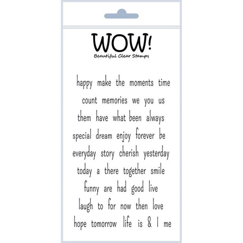"WOW! Clear Stamp Set 4""X5.75"" - Express Yourself"