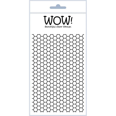 "WOW! Clear Stamp Set 4""X5.75"" - Sexi-Hexi"