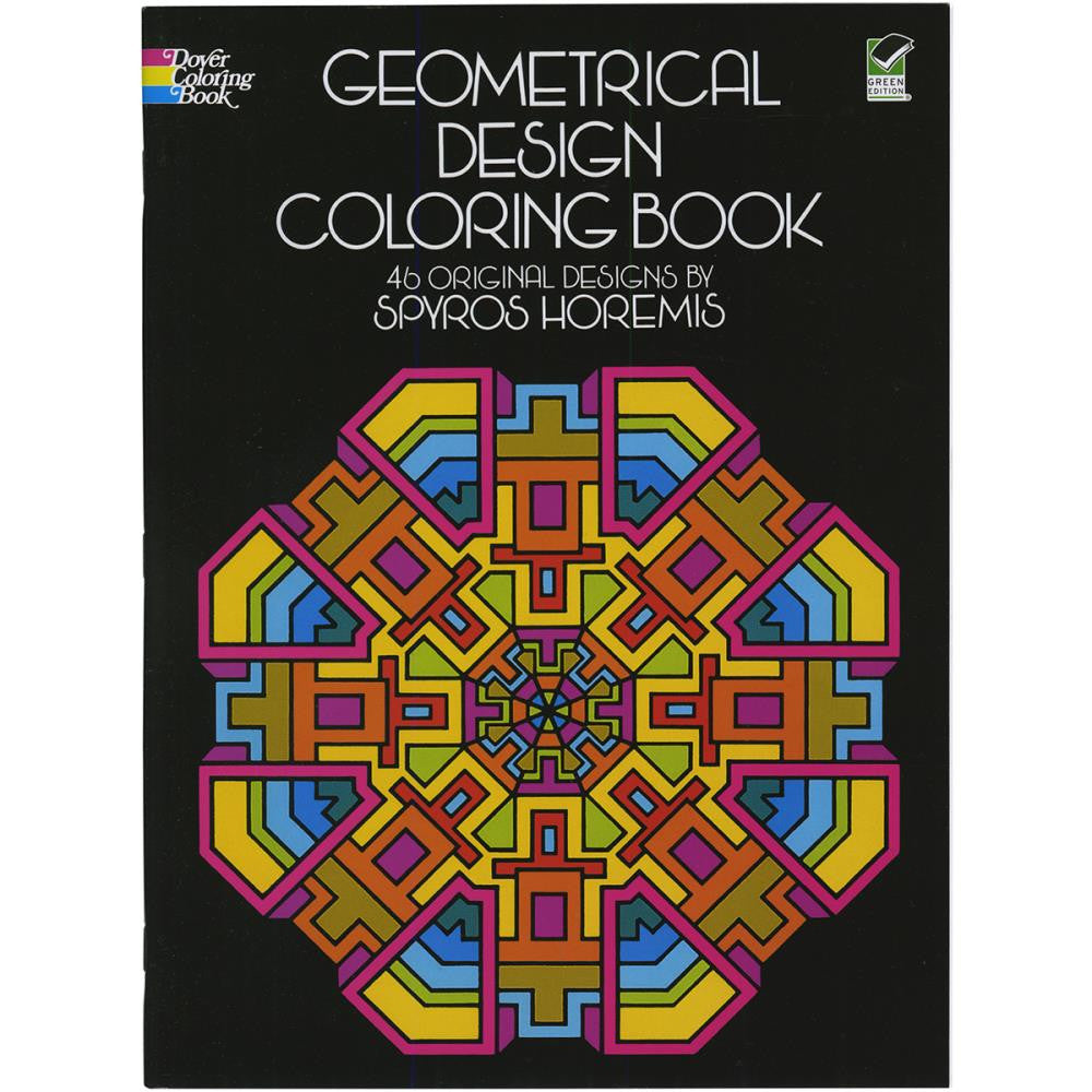 Dover Publications - Geometrical Design Coloring Book