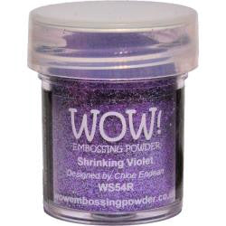 WOW Embossing Powder 15ml - Shrinking Violet