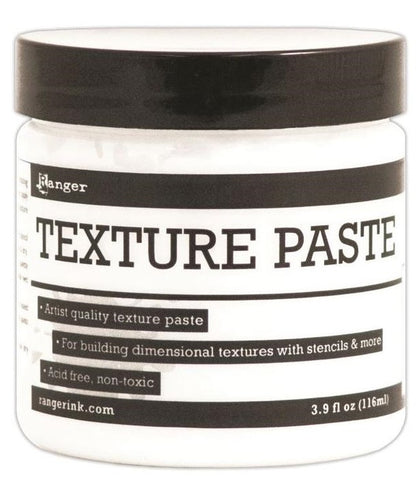 Ranger - Texture Paste, 4oz - White