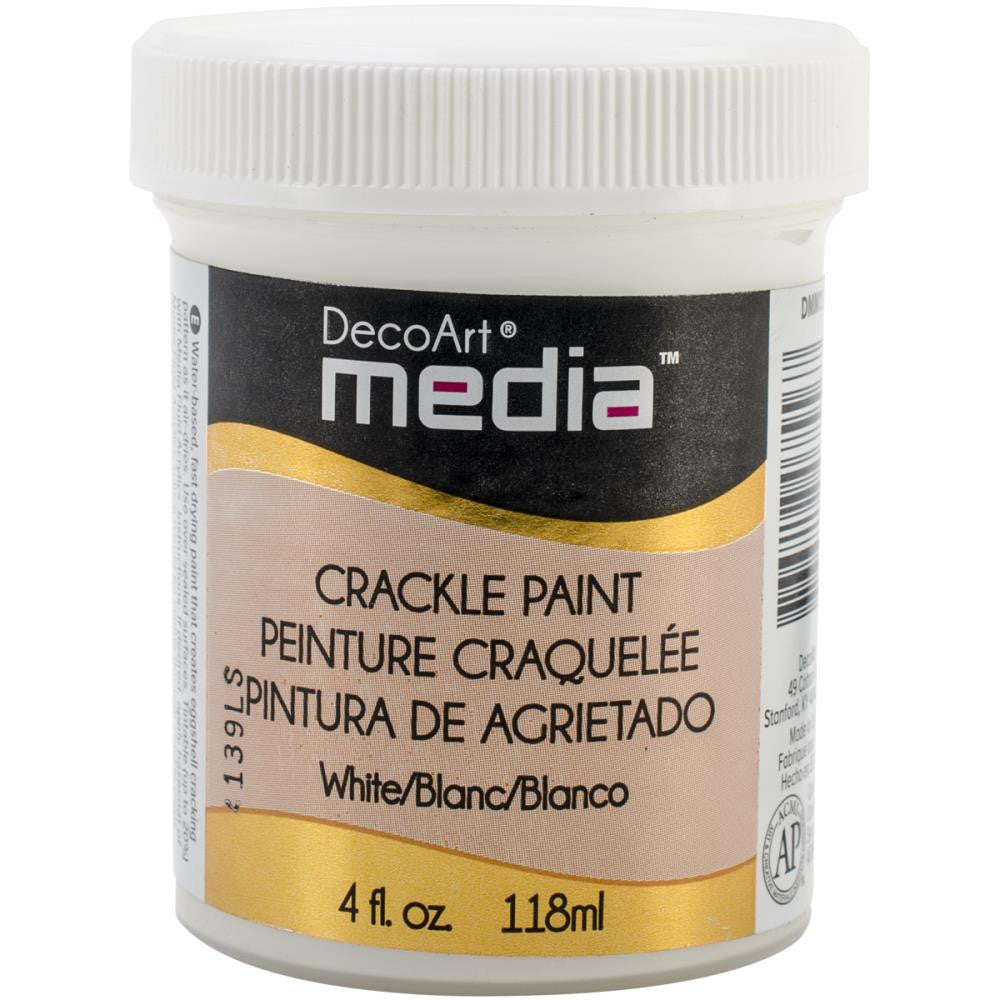 Deco Art Media Crackle Paint - 4oz