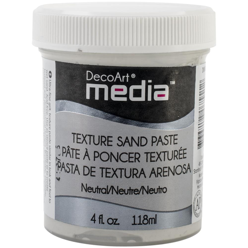 Deco Art Media Texture Sand - 4oz