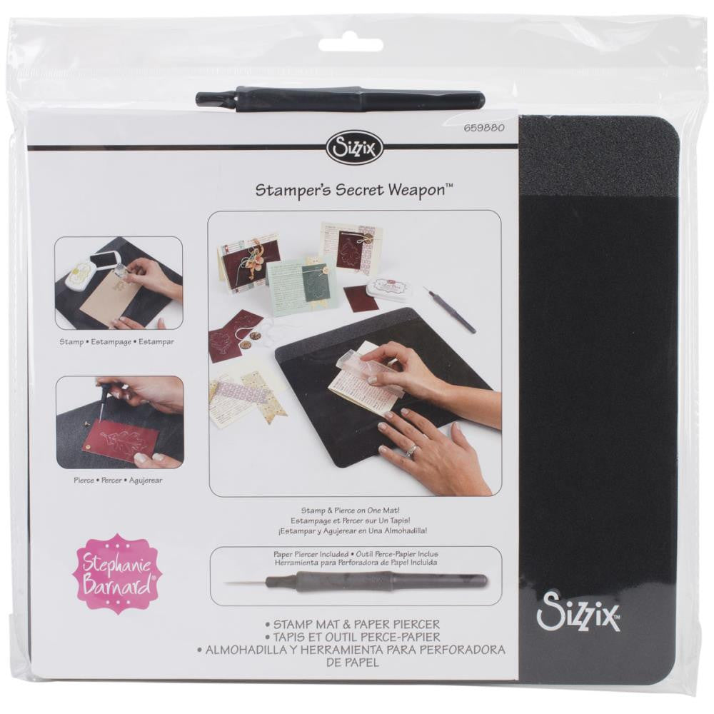Sizzix - Stamper's Secret Weapon - Mat & Paper Piercer
