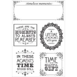 "Kaisercraft - Betsy's Couture Clear Stamps 6.25""X4"""