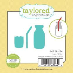 Taylored Expressions Little Bits Die - Milk Bottle