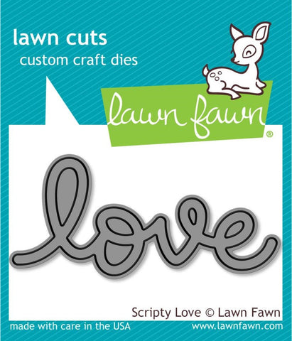 Lawn Fawn - Lawn Cuts - Scripty Love