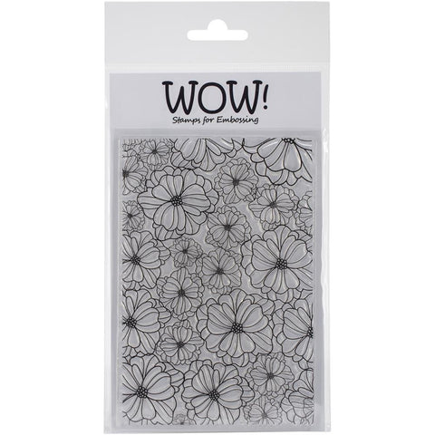 "WOW! Clear Stamp Set 4""X5.75"" - Tropical"
