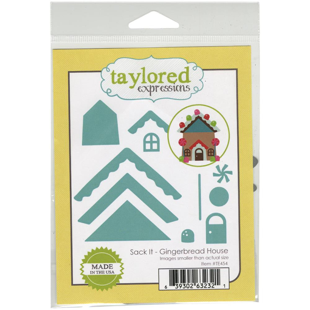 Taylored Expressions Sack It Die - Gingerbread House