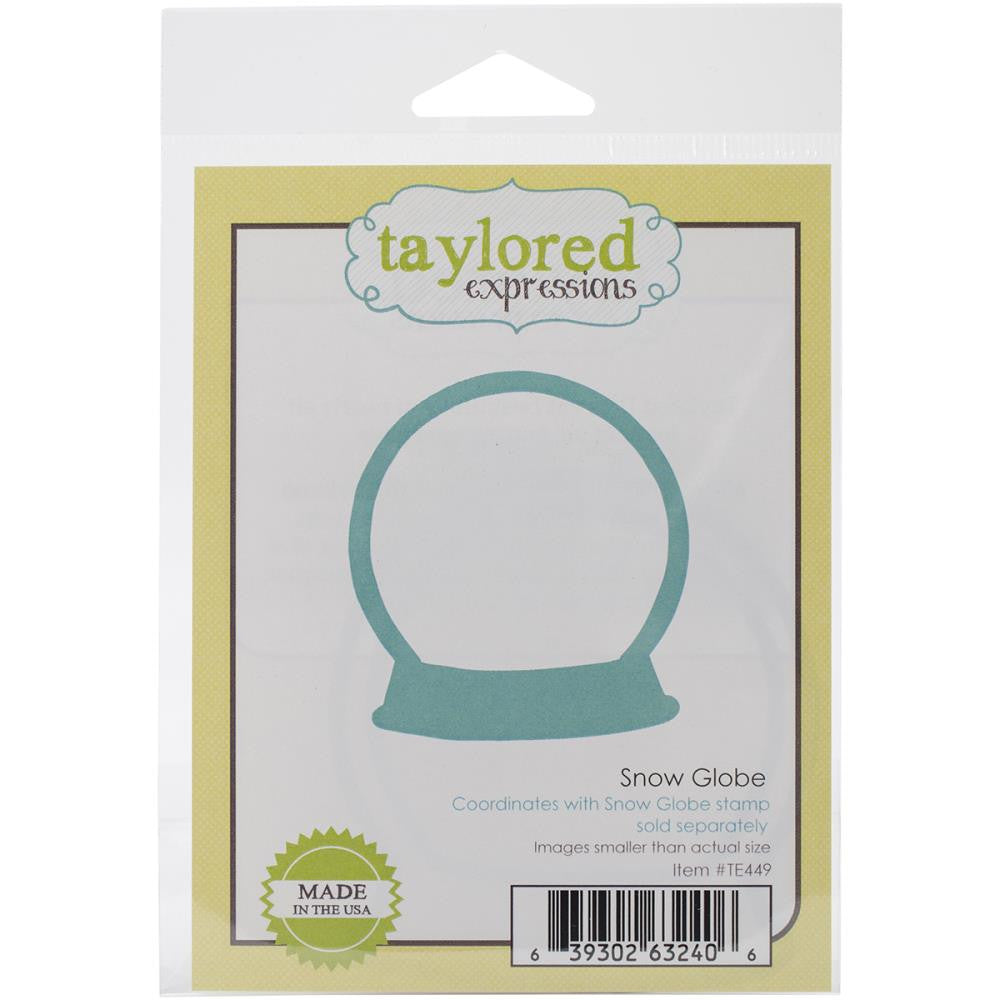 Taylored Expressions Die - Snow Globe (Coordinates with Snow Globe Cling Stamp Set)
