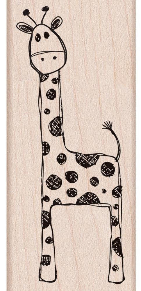Hero Arts - Mounted Rubber Stamps - Playful Giraffe (Available: March 13, 2017)